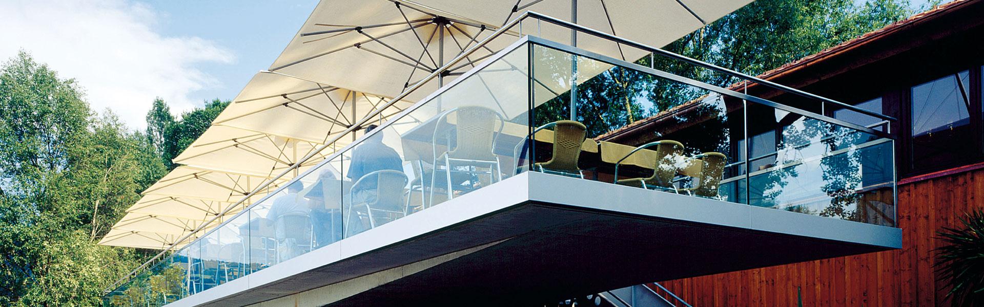 Glaserei Winkler München Balkonverglasung & Terrassenüberdachung